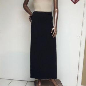 Apostrophe Slinky Strechy Black Maxi Skirt